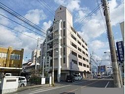 愛媛県松山市小坂1丁目の賃貸マンションの外観