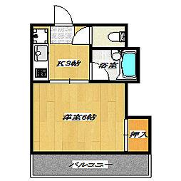 Plum HighriseII〜プラムハイライズ〜[106号室]の間取り