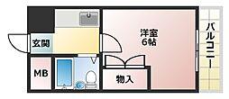 プレアール姫路龍野町[202号室]の間取り