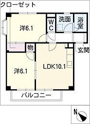 MeLa[2階]の間取り