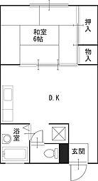 ストークフォーレスト F棟[2階]の間取り