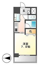 AXIS桜通内山[9階]の間取り
