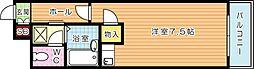 オリエンタル折尾[4階]の間取り