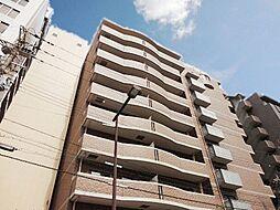 大阪府大阪市東淀川区東中島2-の賃貸マンションの外観