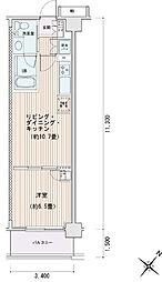 豊洲レジデンス[0325号室]の間取り