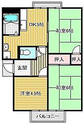 守山ガーデンシティハイツ[1階]の間取り