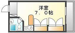 香川県高松市北浜町の賃貸マンションの間取り