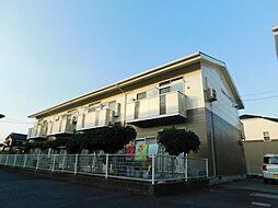 福岡県北九州市小倉南区徳吉東1丁目の賃貸アパートの外観