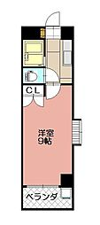 KMマンション八幡駅前II[612号室]の間取り