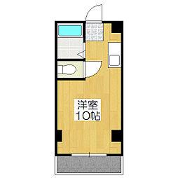 竹田マンション[1階]の間取り