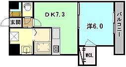 サイワビル[3階]の間取り