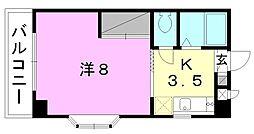 VILLA SONODA[405 号室号室]の間取り