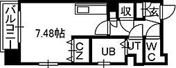 PRIME URBAN知事公館[7階]の間取り