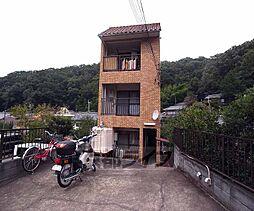 京都府京都市左京区北白川丸山町の賃貸アパートの外観