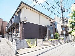 埼玉県川越市中原町2丁目の賃貸アパートの外観