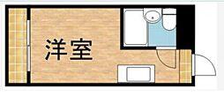 東京都品川区二葉1丁目の賃貸マンションの間取り
