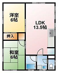 [一戸建] 千葉県東金市南上宿 の賃貸【/】の間取り