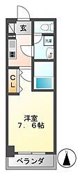 meLiv鶴舞[2階]の間取り