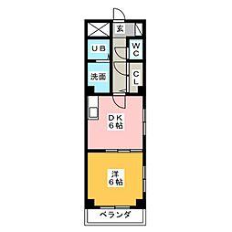 エスパシオK[2階]の間取り