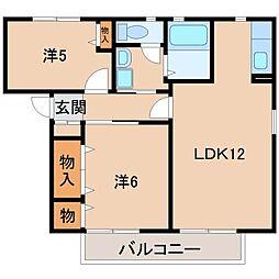 クインテット[2階]の間取り