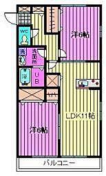 Sol Casa[1階]の間取り