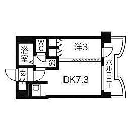 札幌ビオス館[2階]の間取り