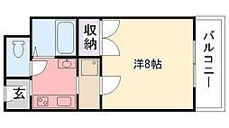 リッチライフ甲子園II[2階]の間取り