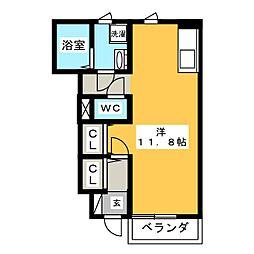 Jiro諏訪[1階]の間取り