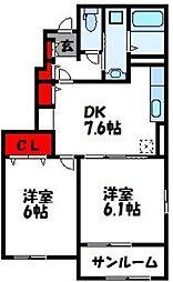 FlagShip福津A[1階]の間取り