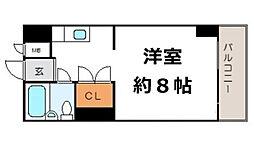 グレイスフル中崎II[1階]の間取り