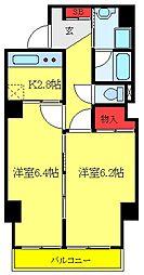 第2ムラカミビル 5階2Kの間取り