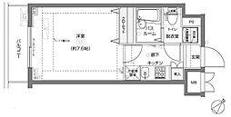 フェニックス横濱関内BAY MARKS[8階]の間取り