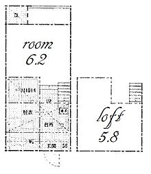 CRESTA[2階]の間取り