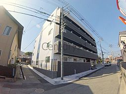 兵庫県川西市火打2丁目の賃貸マンションの外観
