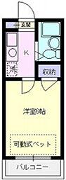 エマーユ川越東田町[206号室号室]の間取り