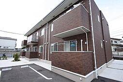 香川県東かがわ市帰来の賃貸アパートの外観