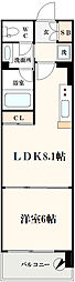 コンソラーレ土佐堀[3階]の間取り