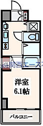 プレサンス大阪城公園パークプレイス[8階]の間取り