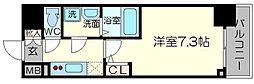 プランドール新大阪PARKレジデンス[4階]の間取り
