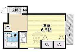 グランピア京橋2階Fの間取り画像