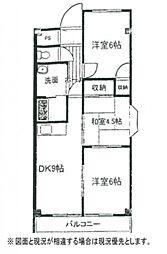 YHマンション[5階]の間取り
