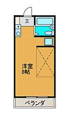 アーク町田[3階]の間取り