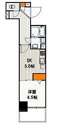 ベラジオ京都西大路II[5階]の間取り