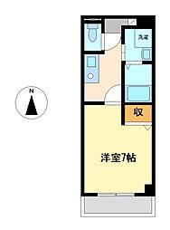 ワピタ名駅[5階]の間取り