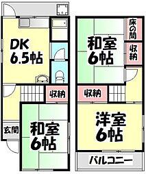 [一戸建] 大阪府堺市西区鳳西町1丁 の賃貸【/】の間取り