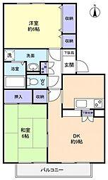 フラワーハウス[1階]の間取り