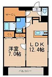 Kプラザ[4階]の間取り