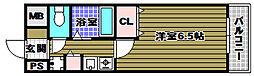REINA錦織[2階]の間取り