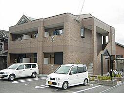 兵庫県姫路市亀山の賃貸アパートの外観