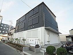 東京都足立区谷中1の賃貸アパートの外観